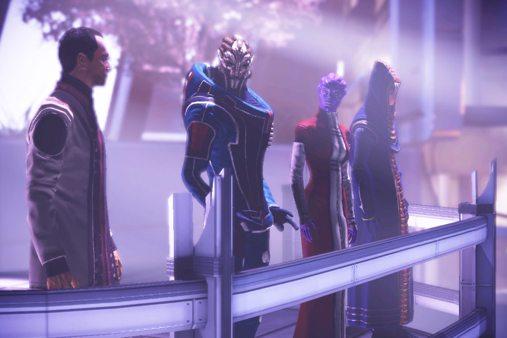 The Citadel Council in ME3