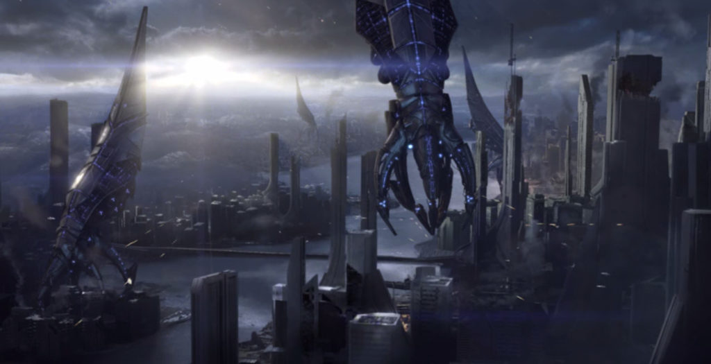 Reapers on Earth