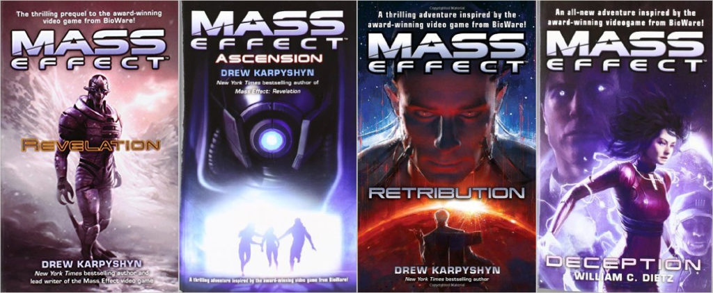 mass effect novels